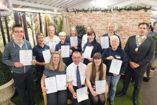 The GCA Revealed Its Winners For Scotland And Northern Ireland At A  Presentation At Garden Wise Plant U0026 Garden Centre In Dumfries.