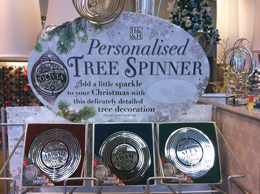 history heraldry hold on to the top three spots in the gtn bestsellers christmas products chart headed by the popular spinning tree decoration - Christmas Tree Spinner